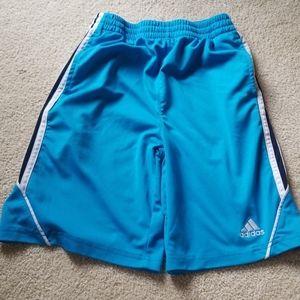 Adidas brand athletic shorts boys 10/12